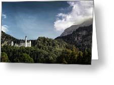 Little Castle On The Hill Greeting Card