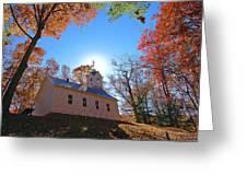 Little Cataloochee Church Greeting Card