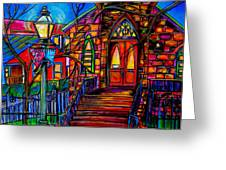 Little Church At La Villita II Greeting Card