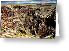 Little Colorado River Greeting Card