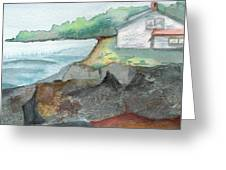 Little Cottage Greeting Card