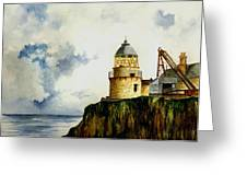 Little Cumbrae Lighthouse Greeting Card