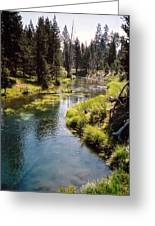 Little Deschutes Photograph Greeting Card