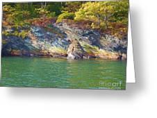 Little Diamond Island Springtime Greeting Card