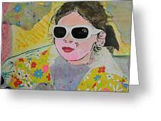 Little Diva  Greeting Card