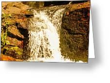 Little Falls Greeting Card by Tom Zukauskas