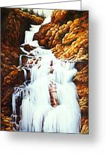 Little Firehole Falls Greeting Card