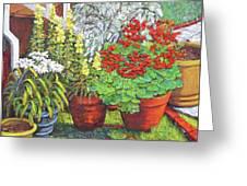 Little Flower Pot Garden Greeting Card