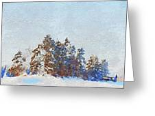 Little Forest Greeting Card