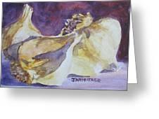 Little Garlic II Greeting Card