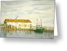 Little Giant Trawler Greeting Card