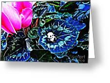 Little Glass Pandas 79 Greeting Card