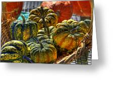 Little Gourds Greeting Card