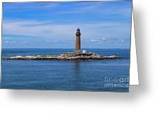 Little Gull Lighthouse Greeting Card