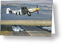 Little Horse Gear Coming Up Friday At Reno Air Races 16x9 Aspect Greeting Card