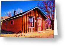 Little House In Lincoln Greeting Card