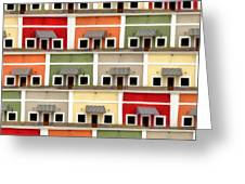 Little Houses Greeting Card