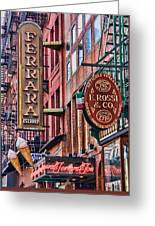 Little Italy Greeting Card