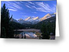 Little Lakes Valley Panorama Greeting Card