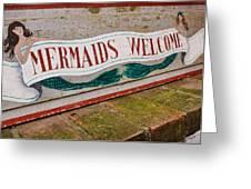 Little Mermaids Greeting Card