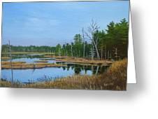 Little Musquatch Lake Greeting Card