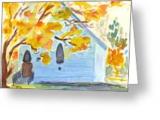 Little Old Church In Friday Harbor Greeting Card