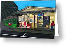 Little Oneroa Store Greeting Card