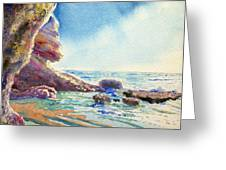 Little Place Of Paradise Greeting Card