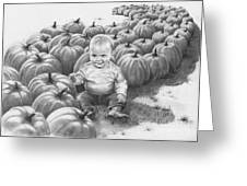 Little Pumpkin Greeting Card