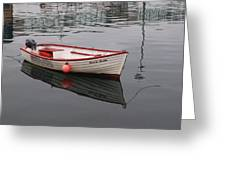 Little Red Boat Greeting Card