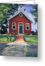 Little Red Schoolhouse Nature Center Greeting Card