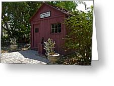 Little Red Schoolhouse Three Greeting Card