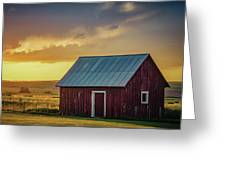 Little Red Shed Greeting Card