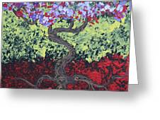 Little Red Tree 2 Greeting Card