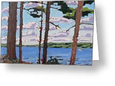 Little Rideau Lake Greeting Card