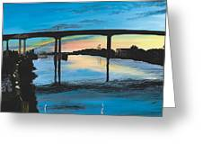 Little River Waterfront Greeting Card