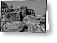 Little Round Top Gettysburg Greeting Card