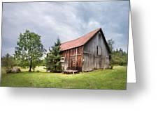Little Rustic Barn, Adirondacks Greeting Card by Gary Heller