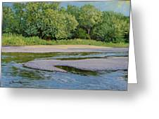 Little Sioux Sandbar Greeting Card