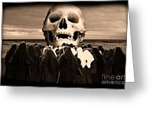 Little Sisters Of The Divine Skull Greeting Card
