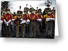 Little Soldiers IIi Greeting Card