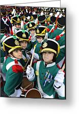 Little Soldiers Vi Greeting Card