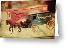 Little Stagecoach Greeting Card