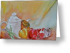 Little Still Life Greeting Card