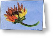 Little Sunflower Greeting Card