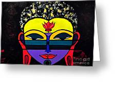 Little Tribal In All Of Us Greeting Card