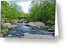 Little Unami Creek - Pennsylvania Greeting Card