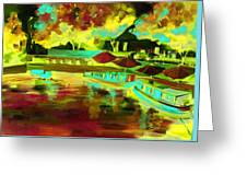 Little Venice In Notinghillgate London Greeting Card