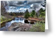Big Woodhull Creek Greeting Card