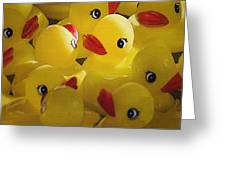 Little Yellow Duckies Greeting Card